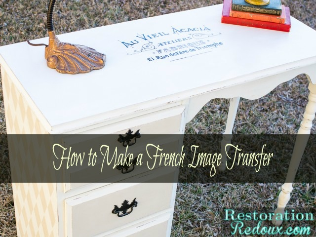 How to Make a French Image Transfer