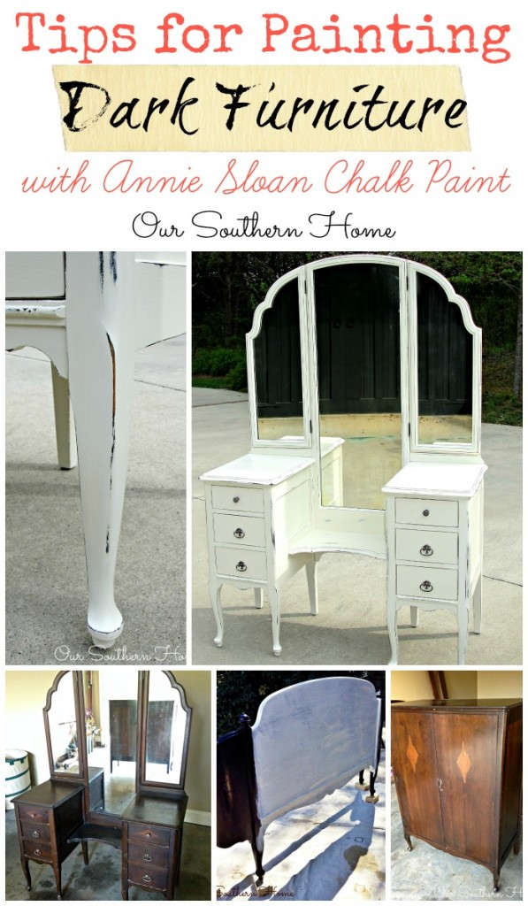 Tips For Painting Dark Furniture from Our Southern Home ...