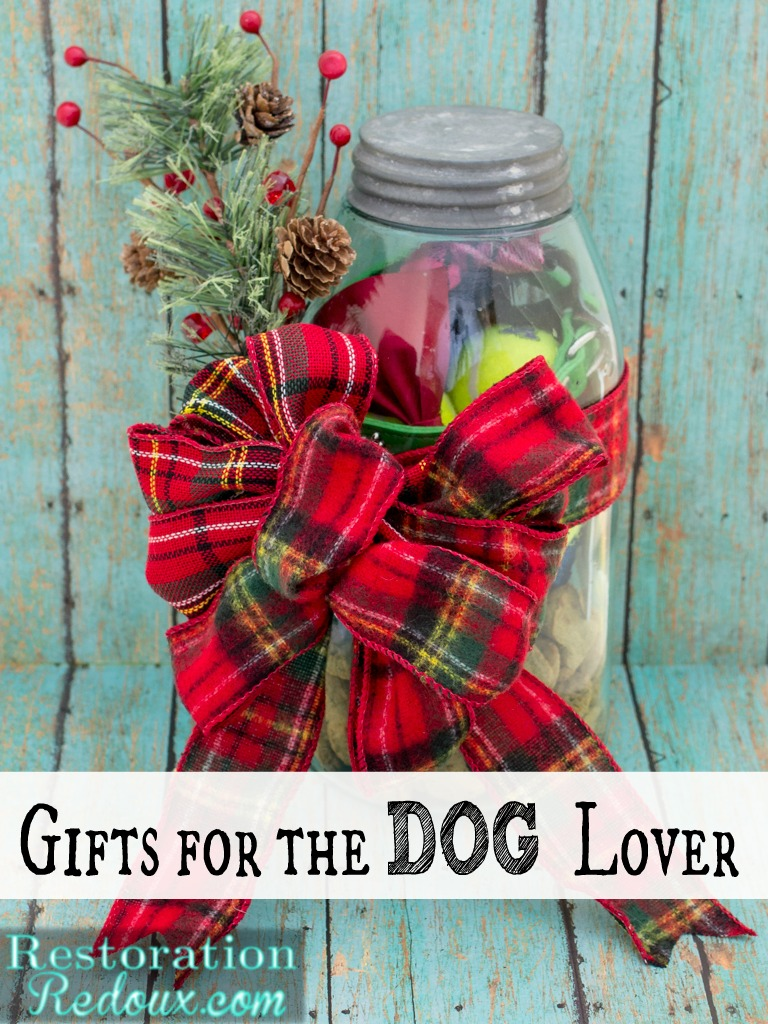 Mason Jar Gift for the Dog Lover