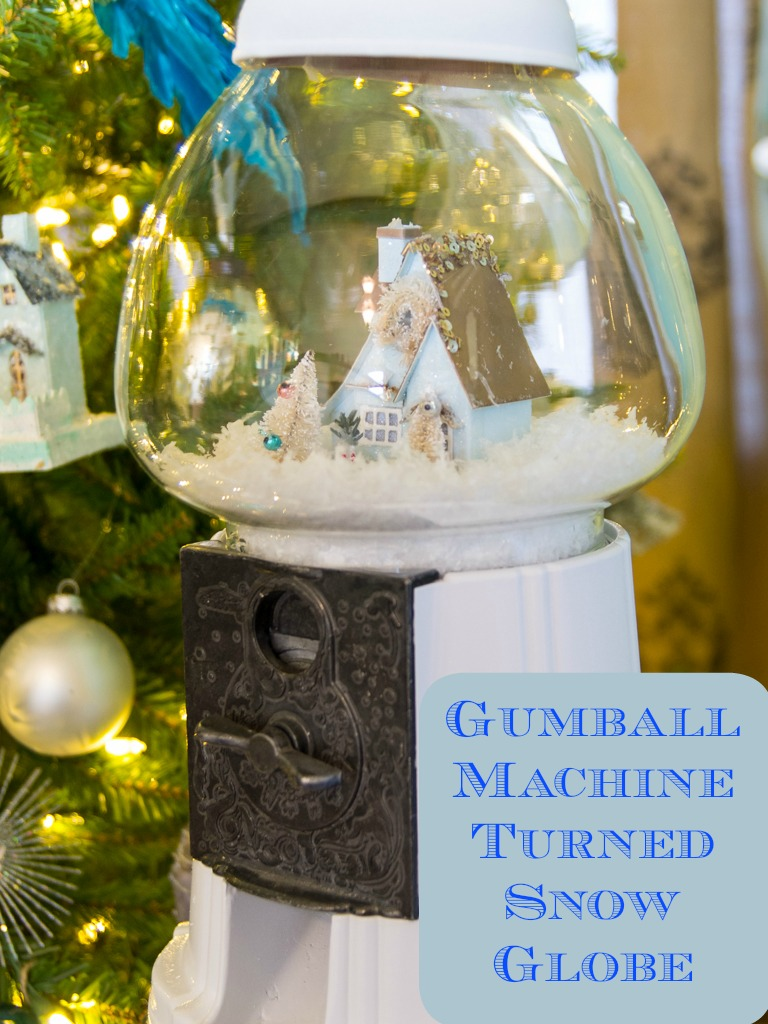 Gumball Machine Turned Snow Globe (and I Got in a Fight)