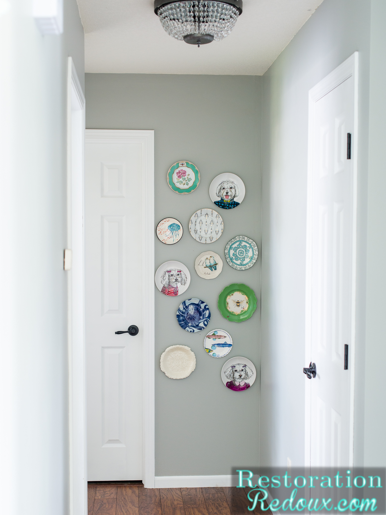 So In Love With My New Plate Wall
