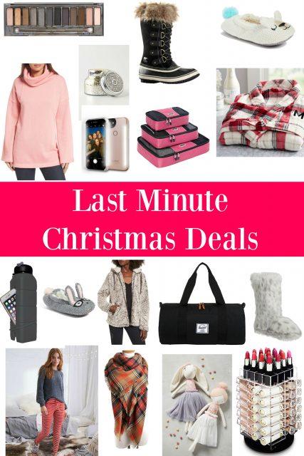 Last Minute Christmas Deals