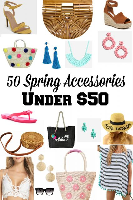 50 Spring Accessories Under $50