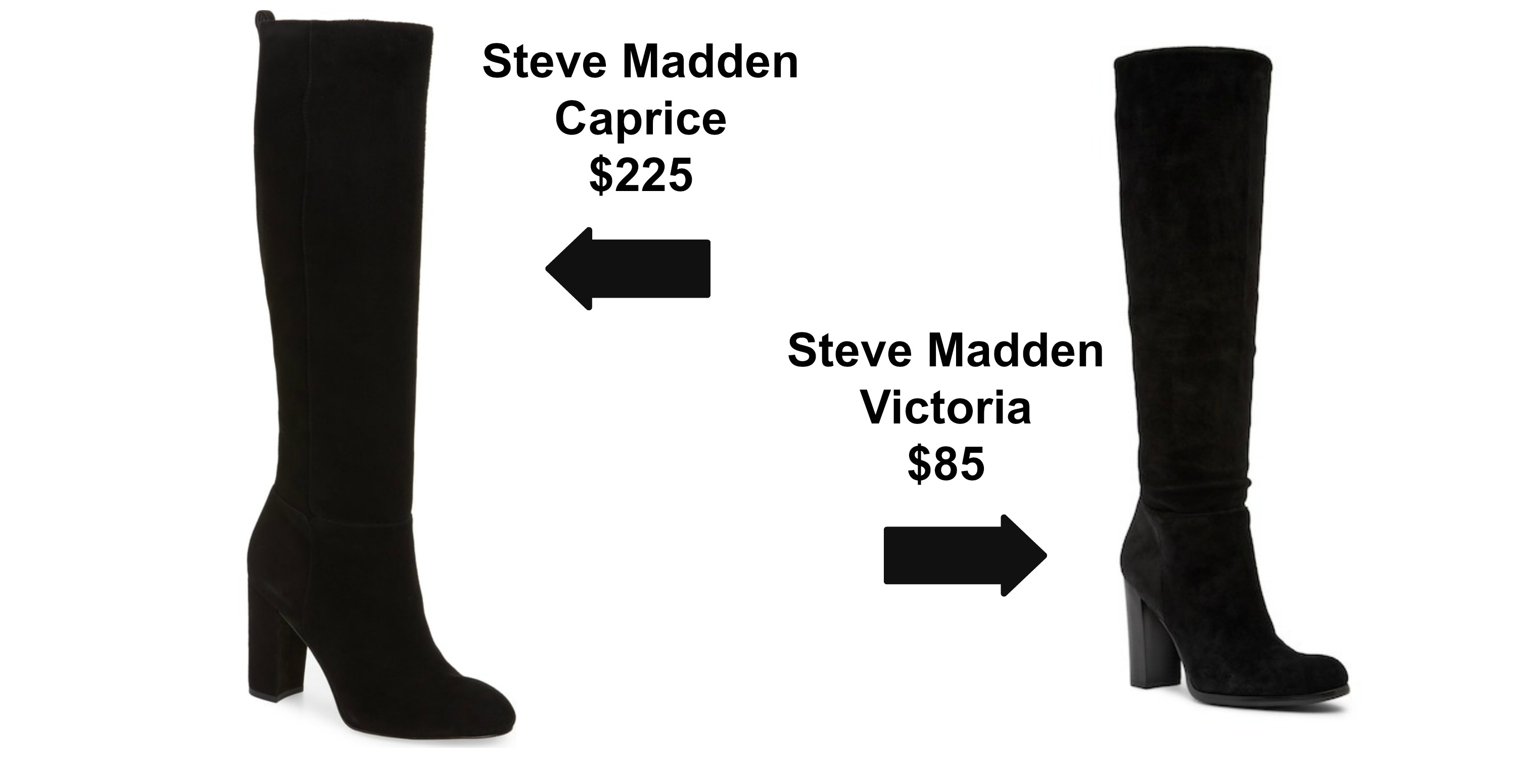 48cab39f6 Steve Madden Caprice Knee-High Boot  Comes in 3 colors  225