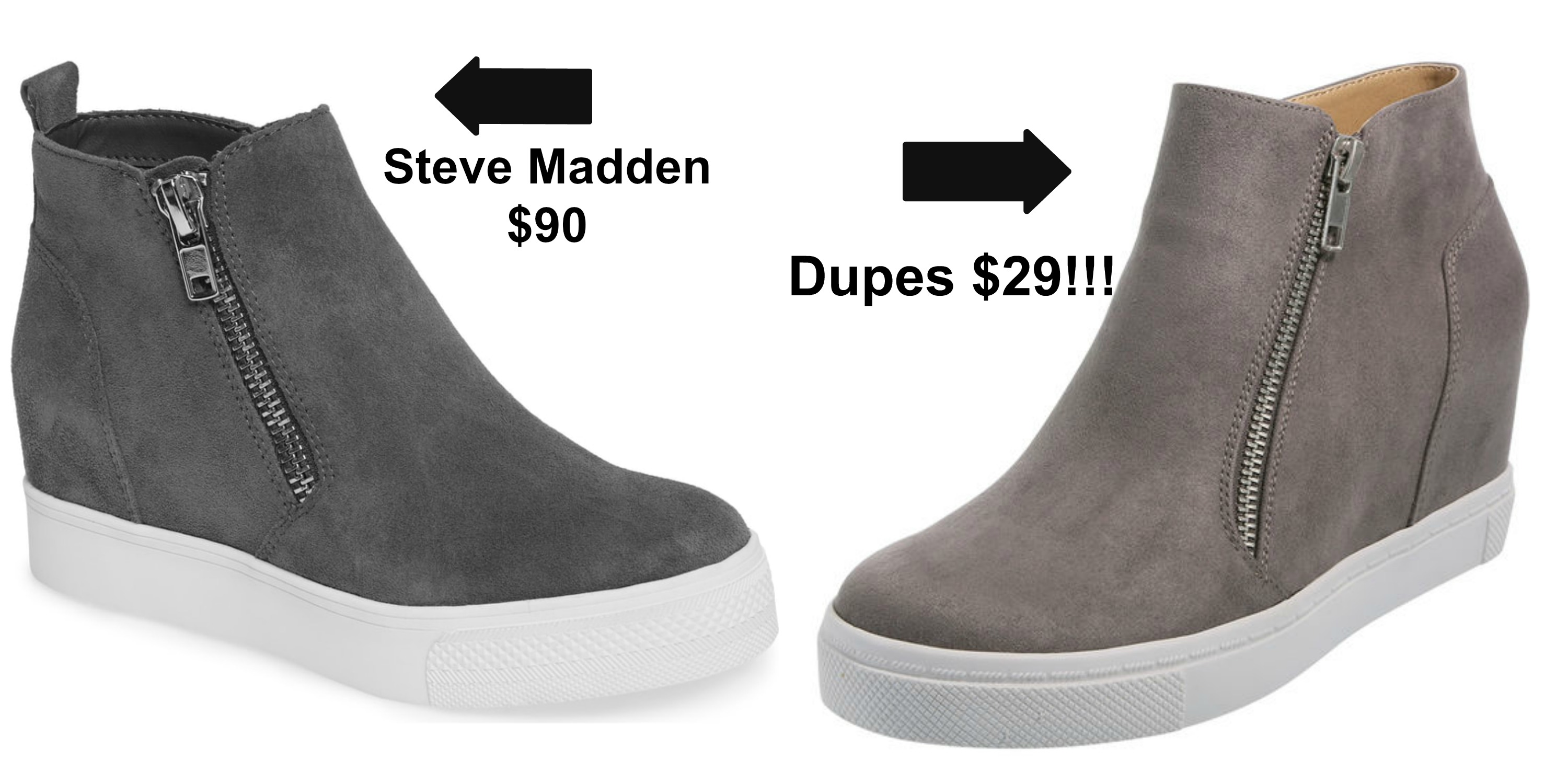 50cb0318d Steve Madden Wedge Sneakers Comes in 5 colors  90