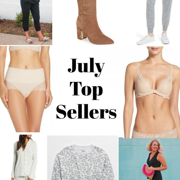 July Top Sellers
