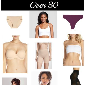 10 Must Have Undergarments If You're Over 30
