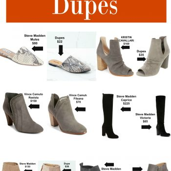 Best Fall Shoe Dupes