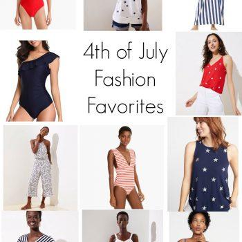 4th of July Fashion Favorites