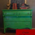 Lulu's Story (Green Antique Dresser)