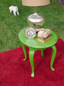restorationredoux.com - Furniture Green Table