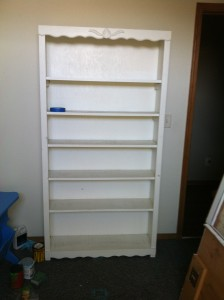 Bookshelf Before Pic