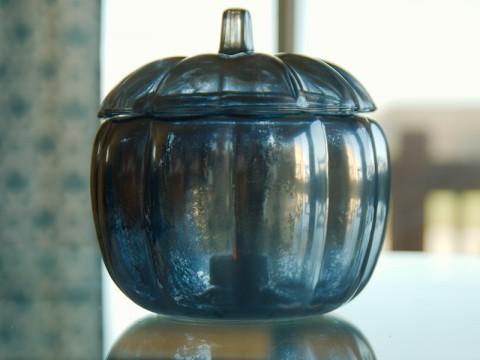 www.restorationredoux.com - mercury glass pumpkin