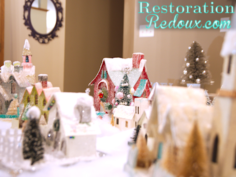 www.restorationredoux.com - Snow Village