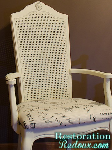www.restorationredoux.com - ivory chairs