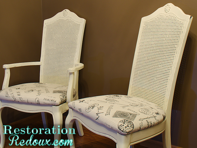 Cane Back Chair Redoux Restoration Redoux