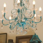 Feeling Blue (My Turquoise Chandelier )