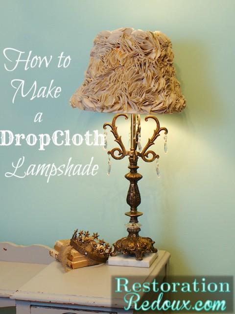 DropCloth-Lampshade