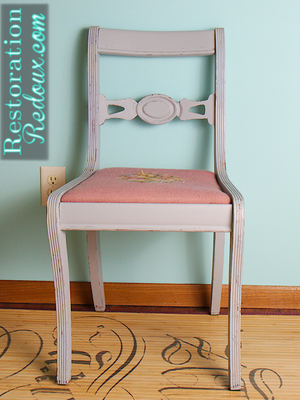 Grey Chair Front