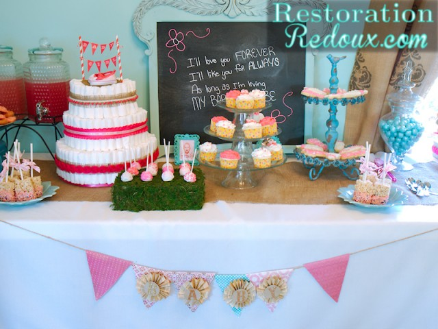 how to host a baby shower part 5 the dessert table restoration