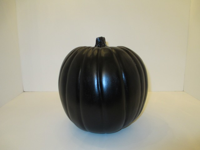 black pumpkin