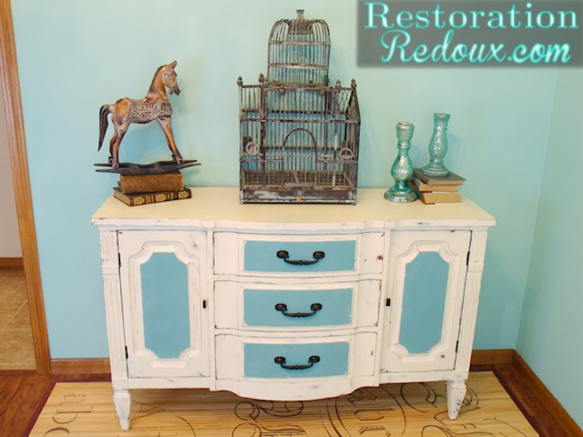 Ivory Chalkpainted Buffet