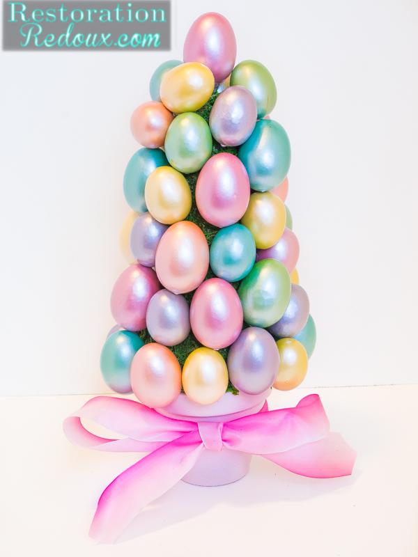 Easter egg tree restoration redoux restoration redoux How to make an easter egg tree