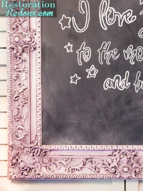 Chalky-Finish Chalkboard