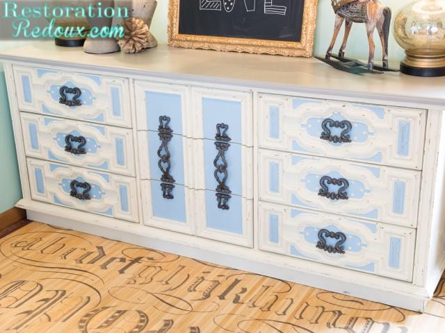 Ivory Dresser