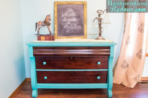 How to Make Waxing Furniture Easier with a Giveaway