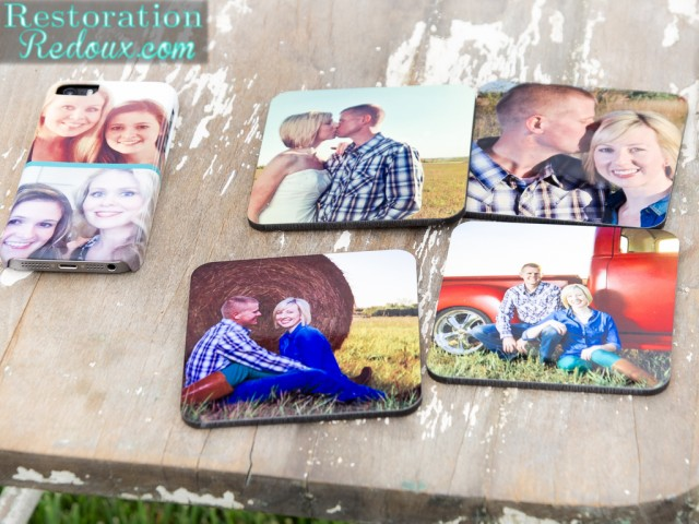 Shutterfly Coasters and Phone Case