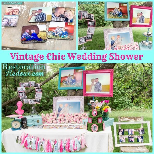 Vintage Chic Wedding Shower Pics