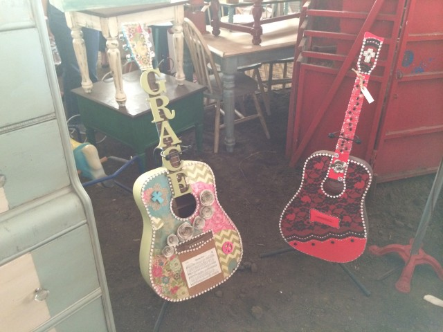 Blinged Out Guitars