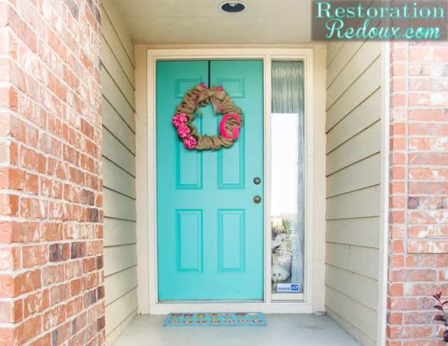 Easy-Burlap Wreath