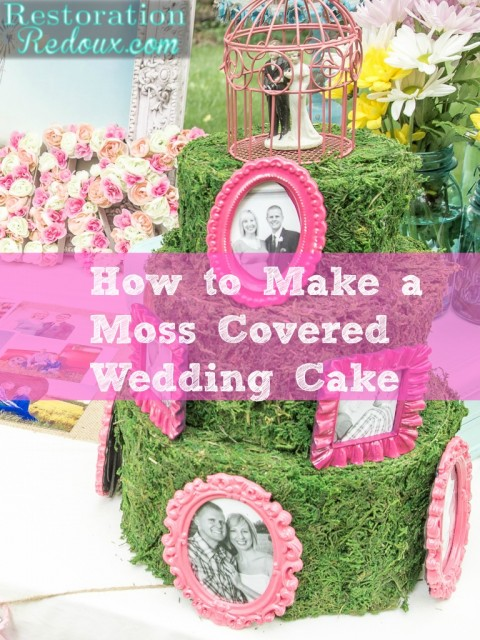Moss-Covered-Wedding-Cake
