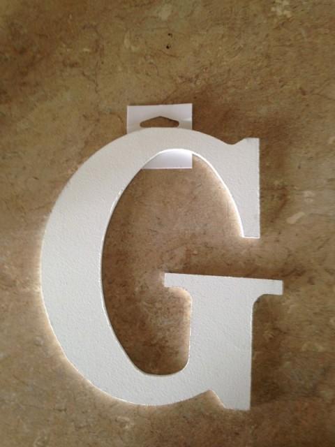 Wooden Letter