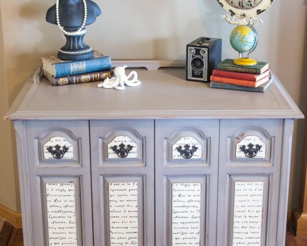 French-Script-Grey-Cabinet