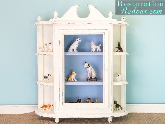 Ivory Plaster Paint Cabinet