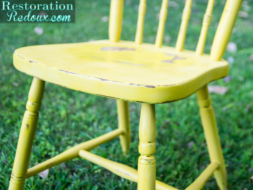 our mini getaway and plaster painted kitchen chairs restoration