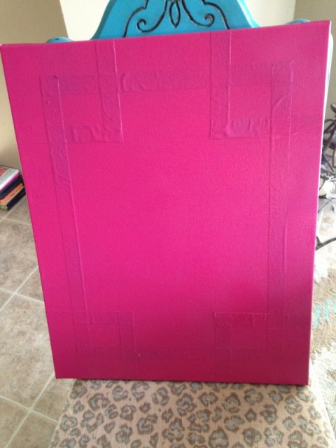 Pink-Taped-Off-Canvas