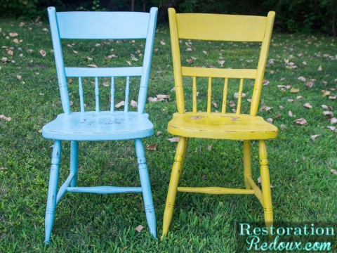 Our Mini Getaway and Plaster Painted Kitchen Chairs