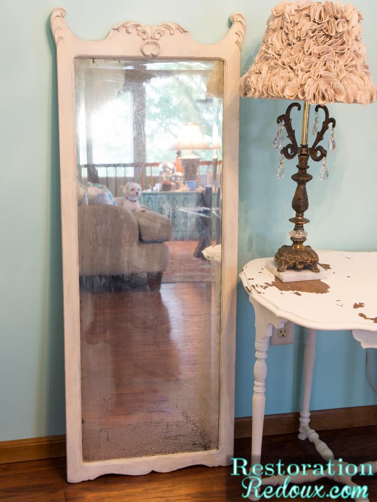 Plaster-Painted-Vintage-Mirror
