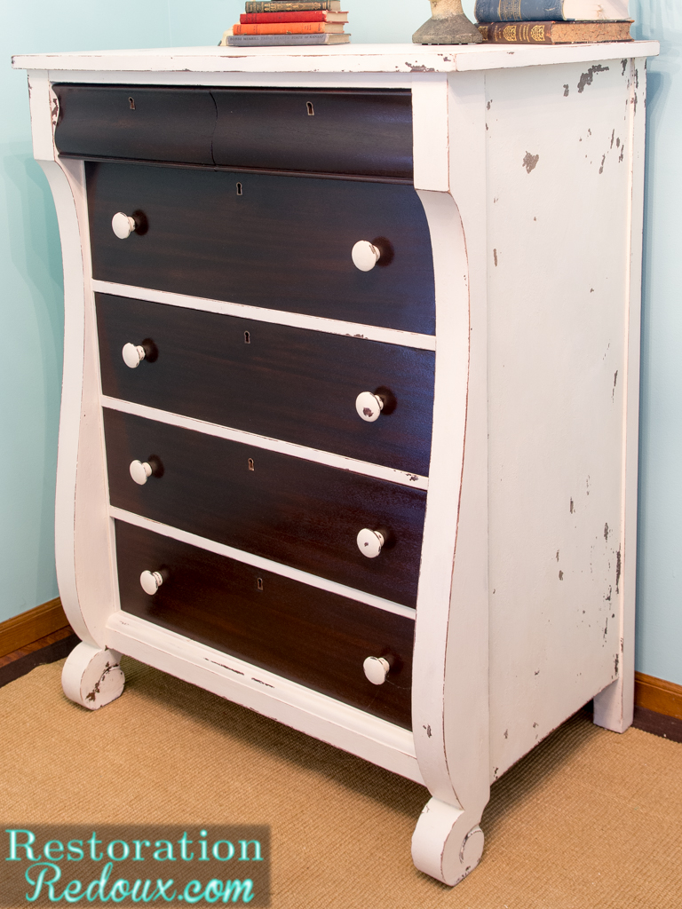two after old furniture dresser tone funkie munkie the white