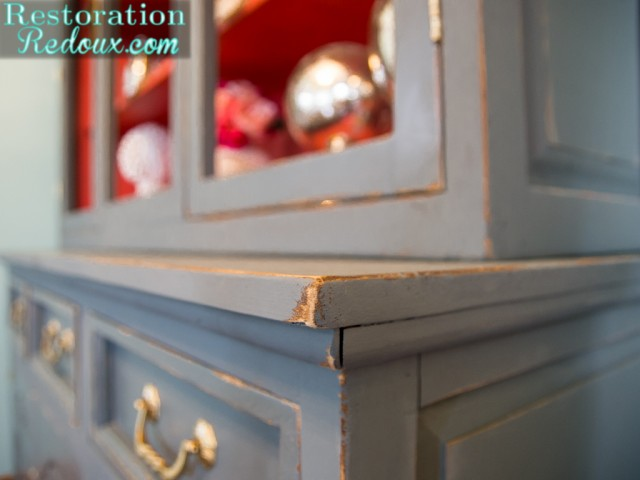 China Hutch Plaster Paint