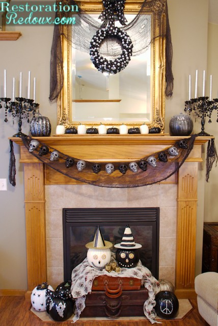 Halloween Home Tour by Restoration Redoux