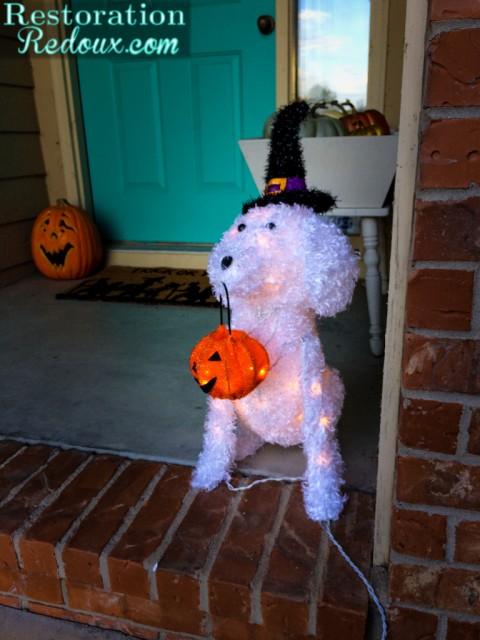 Light Up Halloween Dog