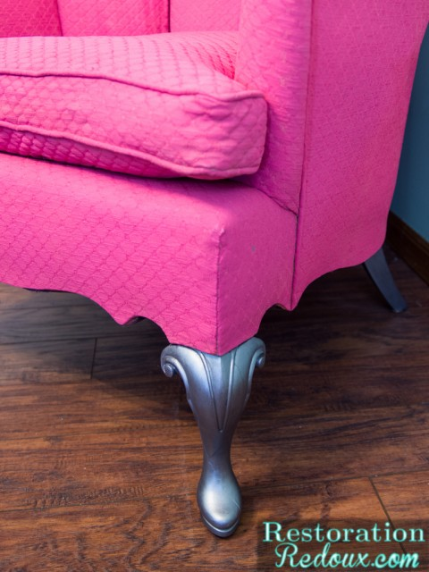 Pink Plaster Paint Chair