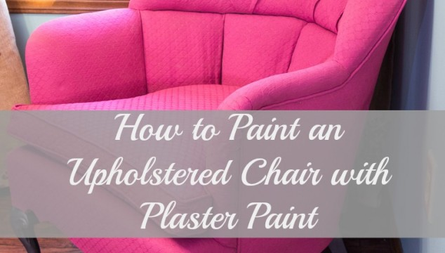 Plaster-Painted-Pink-Chair