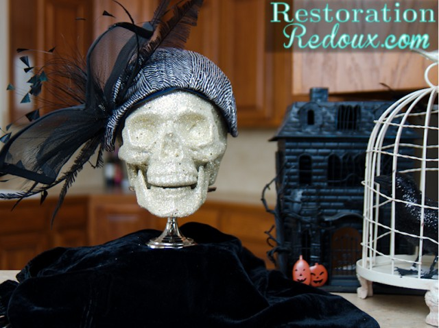 Skull In Vintage Hat