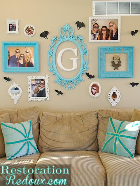 Spooky Gallery Wall